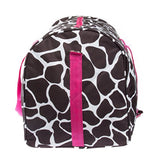 "Giraffe Print 22"" Luggage Duffle Bag (Black/White/Pink)"