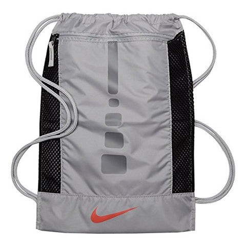 Nike Hoops Elite Gym Sack Grey