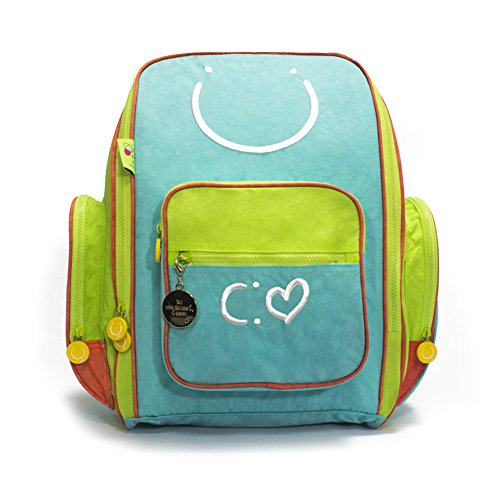 Biglove Kids Backpack Happiness, Multi-Colored, One Size
