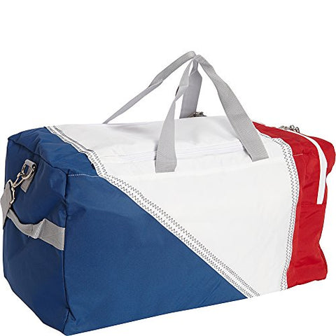 SailorBags TriSail Duffel (TriColor - Red/White/Blue)