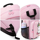 mommore Cute Unicorn Kids Backpack Preschool Toddler Backpack for 3-7 Years Old Boys/Girls, Pink
