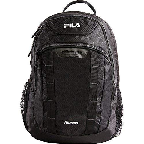 Fila Katana Tablet and Laptop Backpack, BLACK/GREY, One Size