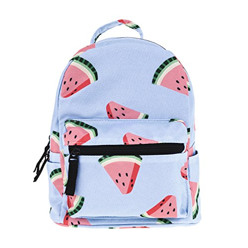 Cute 10 Inch Mini Pack Bag Backpack For Kids Baby Grils Children And Adult (Watermelon)