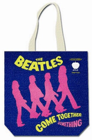 Rock Off - The Beatles Tote Bag Come Together