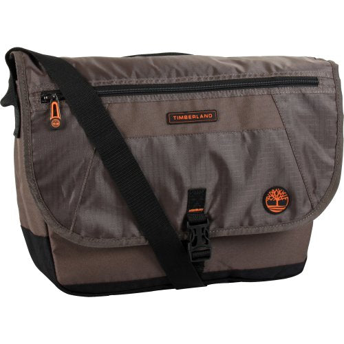 Timberland Luggage Twin Mounta In 16 Inch Messenger Bag, Cocoa, One Size