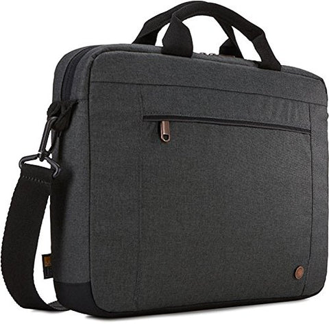 "Case Logic 3203694 Era 14"" Laptop Attaché, Obsidian"