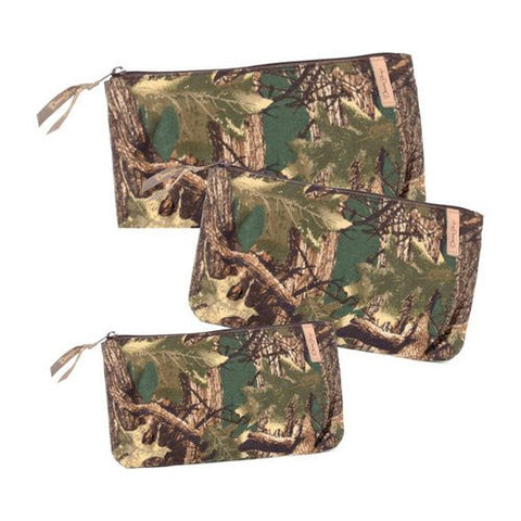 Donna Sharp Rectangle Cosmetic (3pc) (Camo)