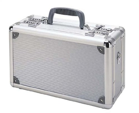 T.Z. Case International Pro-Tech Duelly Fifteen Pistol Case, Silver, 15-Inch