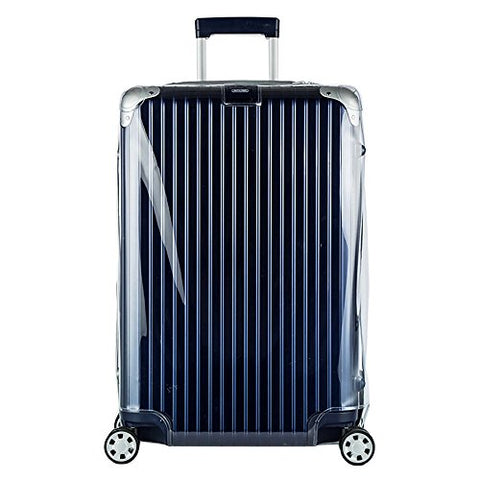 Sunikoo Luggage Protector Suitcase Clear Pvc Transparent Cover Case With Chain Fits Rimowa Limbo