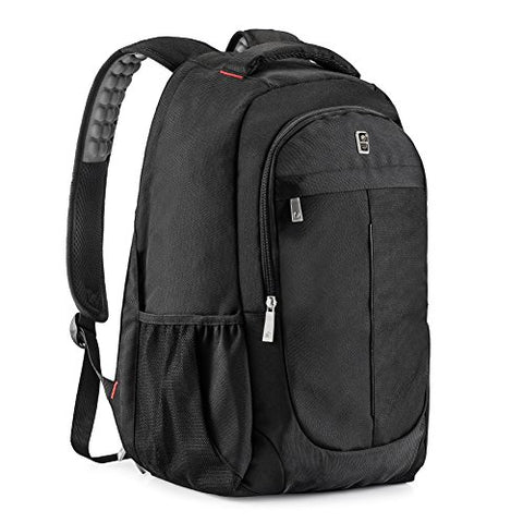 Laptop Backpack, Sosoon Business Bags With Usb Charging Port Anti-Theft Water Resistant Polyester