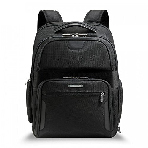 Briggs & Riley @ Work Luggage Clamshell Backpack, Black, One Size