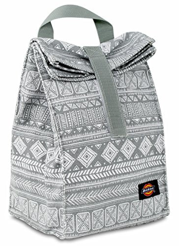 Dickies Canvas Lunch Sack Casual Daypack, Grey Tribal, One Size