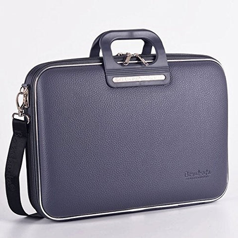 Bombata Overnight Bag Brera for 13 Inches - Charcoal
