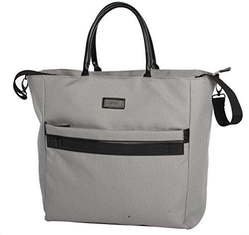 "Nicole Miller New York Coralie Collection 19"" Carry On Tote Bag (19 in, Coralie Grey)"