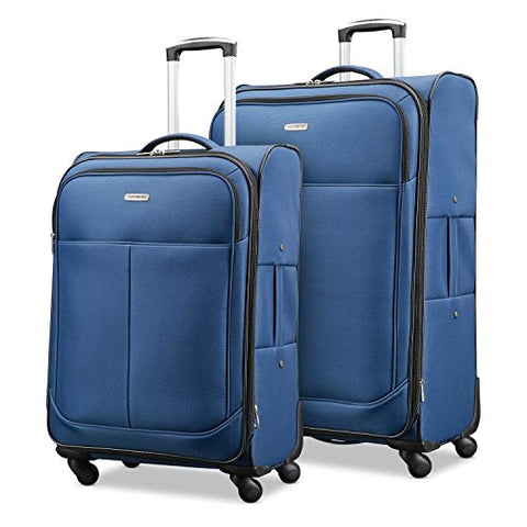 "Samsonite Advance Xlt Lightweight 2 Piece Softside Set (21""/25""), Navy, Exclusive to Amazon"