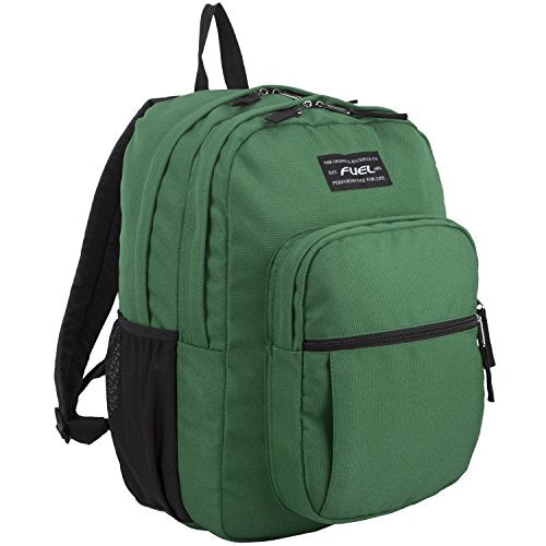 Fuel Legacy Deluxe Classic Backpack, Forest Green