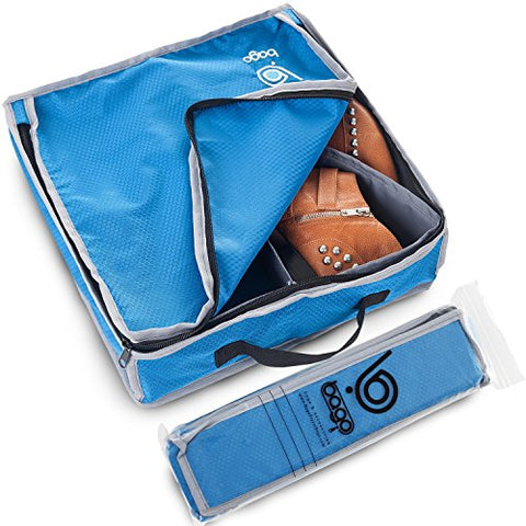 Bago Shoes Bag for Travel - Hanging Packing Cubes for Women Man Kids Storage. Modular Pouch for 1