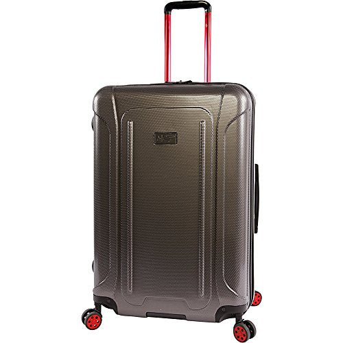 "ORIGINAL PENGUIN Luggage Crest 29"" Hardside Check in Spinner, Charcoal"