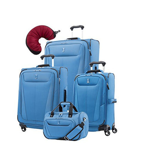 "Travelpro Maxlite 5 | 5-Pc Set | Soft Tote, 21"" Carry-On, 25"" & 29"" Exp. Spinners With Travel"