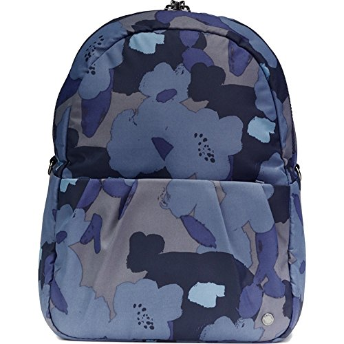 Pacsafe Women's Citysafe CX Anti-Theft Convertible Backpack to Crossbody Blue Orchid One Size