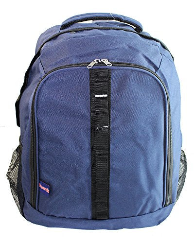 BoardingBlue Personal Item Laptop Backpack for American, Spirit, Frontier Airlines NAVY