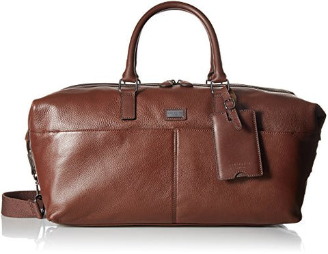 Ted Baker Men'S Tiger Leather Holdall