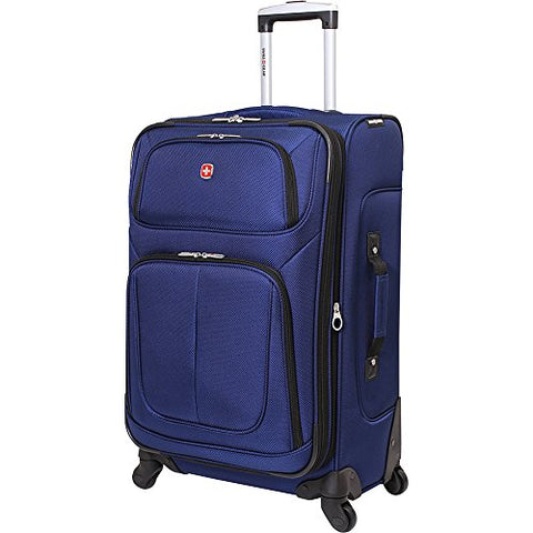 "Swissgear Travel Gear 6283 25"" Spinner Luggage (Blue)"