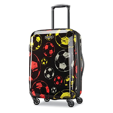 American Tourister Moonlight Spinner 21, Red/Yellow