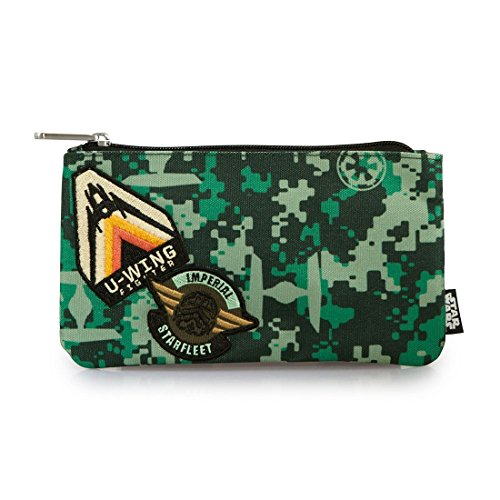 Loungefly Rogue One Imperial Camo Pencil Case Coin Purse Cosmetic Bag