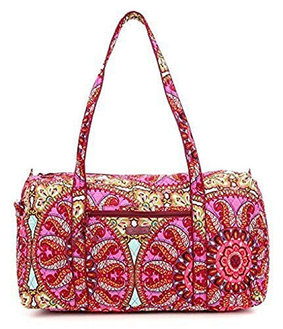 Vera Bradley Large Duffel Bag (Resort Medallion)