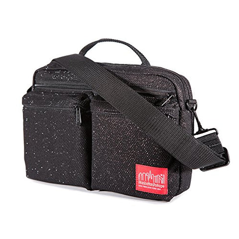 Manhattan Portage Midnight Albany Shoulder Bag, Black