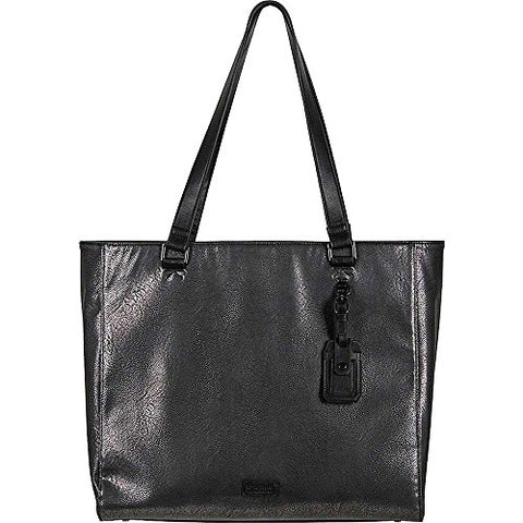 "Kenneth Cole Reaction Women'S Faux Leather Single Compartment 15.0"" Computer Travel Laptop Tote,"