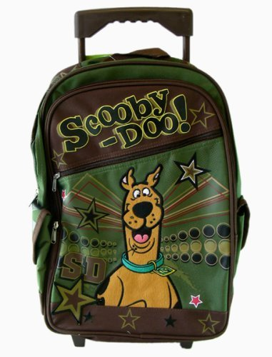 Scooby Doo Large Rolling Backpack - Super Star