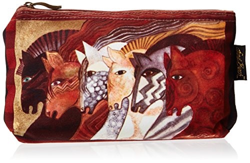 Laurel Burch Cosmetic Bag, Moroccan Mares, Set Of 3