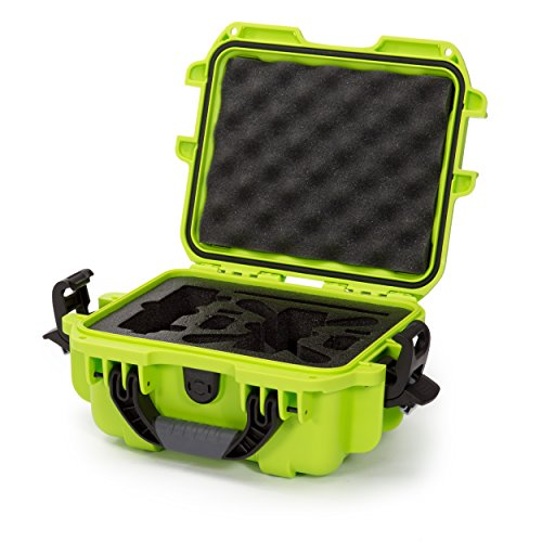 Nanuk 905 Waterproof Hard Drone Case with Custom Foam Insert for DJI Spark – Lime