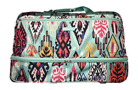 Vera Bradley Lighten Up Wheeled Carry-On, Pueblo