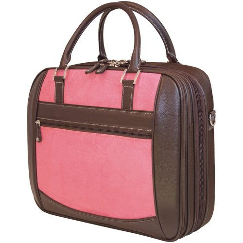 Mobile Edge ScanFast Checkpoint Friendly Women Element Laptop Bag- 16-Inch PC/17-Inch Mac (Pink)