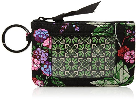 Vera Bradley Women'S Iconic Zip Id Case-Signature