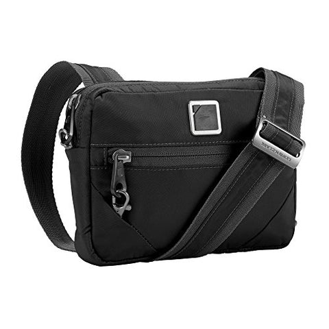Lewis N. Clark Secura Anti-theft Commuter Shoulder Bag, Onyx