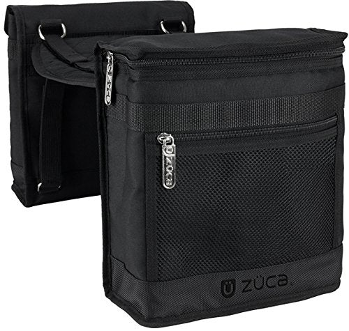Zuca Beauty Caddy Pouches w/ Seat Cushion (Black)