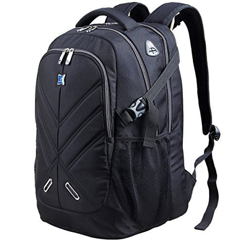 Backpack For Men And Women Fit 17 Inches All 15.6 Inches Laptops Waterproof Shockproof Outjoy