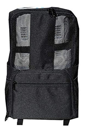 Inogen One G3 Rolling Backpack By Portablez | For Portable Oxygen Concentrator (Black, Inogen G3