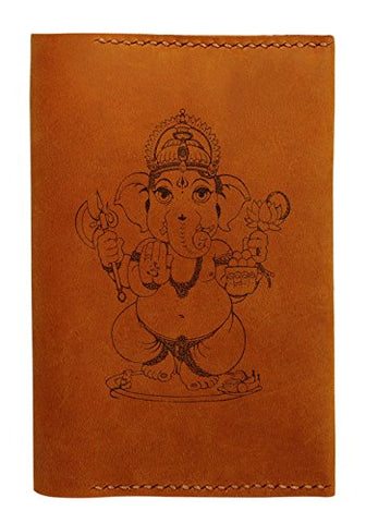 Ganesh Design Handmade Genuine Leather Passport Holder Case Hlt_01