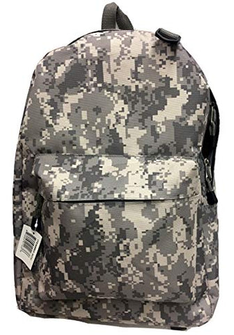 Explorer Backpack, ACU Camo, 7 x 12 x 6-Inch