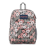 JanSport Digibreak Laptop Backpack - Coral Sparkle Pretty Posey