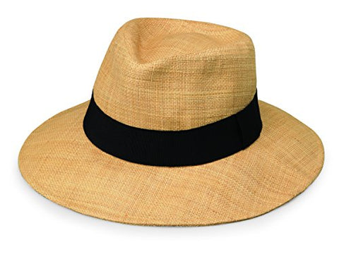 Wallaroo Women'S Morgan Sun Hat - Fine Raffia Weave - Upf50+, Natural