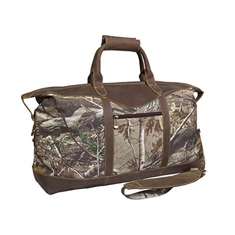 Canyon Outback Realtree 22-Inch Water Resistant Carry-On Duffel Bag, Camouflage, One Size