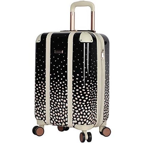 "BCBGeneration BCBG Luggage Hardside Carry On 20"" Suitcase with Spinner Wheels (20in, Flowing Bloom)"