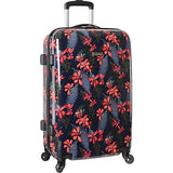 Tommy Bahama Hardside Spinner Suitcase Luggage Suitcase, Iris Print