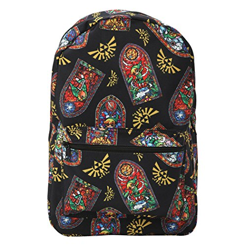 Nintendo Zelda Stained Glass All Over Backpack-No Size